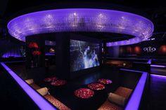 Elegant and stylish night club design. Japan