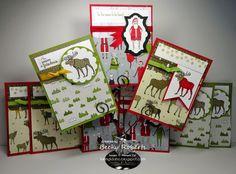 Visions of Santa Pocket Cards