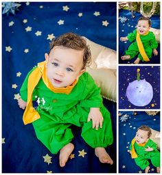 The Little Prince Inspired Session - Happy Thoughts Studio Prince Birthday Theme, Baby Boy Birthday Themes, Twin First Birthday, Half Birthday, First Birthday Parties, The Little Prince Costume, The Little Prince Theme, Little Prince Party, Prince Cake