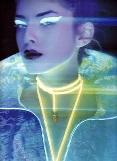 Aquarius glows