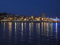 St Maxime, my local town in France, by night.