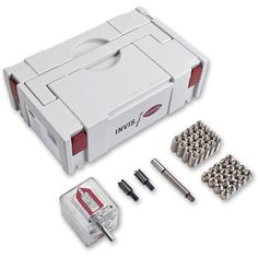 Lamello Lamello Invis Mx Starter Kit with 20 connectors. . .  This is a very neat invention