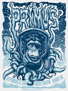 Primus - Gig Poster