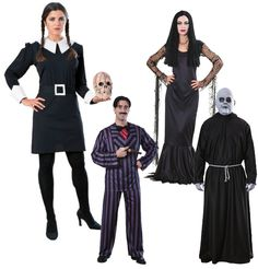 pictures of costumes for halloween for family group - Google Search