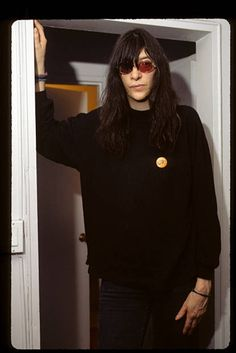 Photo of joey ramones in the department June 25, 1993. (Photo by ABC Photo Archives/ABC via Getty Images)