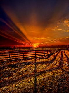 Song Of The Setting Sun (by Phil Koch)