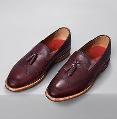 Wingtip loafer from Grenson