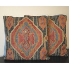 Tribal Indo Kilim Pillows (Set of Two)   Overstock.com Shopping - Great Deals on Throw Pillows