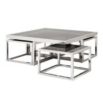 Buy Eichholtz Coffee Table Monogram online with Houseology Price Promise. Full Eichholtz collection with UK & International shipping. Square Glass Coffee Table, Small Coffee Table, Coffee Table Design, Coffee Tables, Nest Furniture, Art Deco Furniture, Table Furniture, Furniture Layout, Steel Furniture