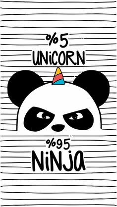 Cute Iphone Home Screen Panda Unicorn Wallpaper Unicornios Wallpaper, Tumblr Wallpaper, Wallpaper Backgrounds, Seagrass Wallpaper, Paintable Wallpaper, Colorful Wallpaper, Ninja Wallpaper, Unicorn Backgrounds, Kawaii Wallpaper