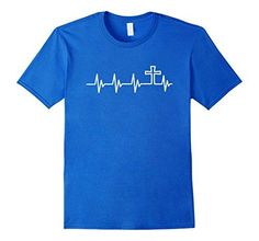 CHRISTIAN HEARTBEAT T-SHIRT MEN WOMEN KIDS@@@@Christian T-Shirt Heartbeat is a fantastic way to show your love for Jesus. This T-shirt is a great gift to those who you truly love. T-shirt is fitted, please consider ordering a size up for a looser fit. Click in the Brand-name to see more T-shirts Christian T-Shirt Women Men Blessed Jesus Christ God Religion Message Bible Glory Grace T-shirts Faith Love Father Son Holy Spirit David shirts Follower Church Devoted Powerful Easter Christmas shirt…