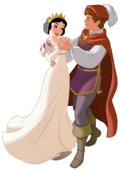 Snow White's Wedding - Snow White and the Seven Dwarfs Walt Disney, Disney Pixar, Disney And Dreamworks, Disney Animation, Disney Magic, Disney Art, Disney Movies, Snow White 1937, Snow White Prince