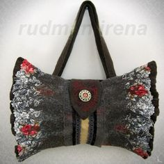 Felted Bag------------Just beautiful