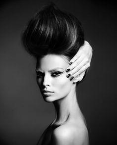 Photography: Gilad Langer Styling: Marc Oren Concept, Hair, Makeup: Ido Raphael Model: Irina Kolakoveska @ MC2 Israel