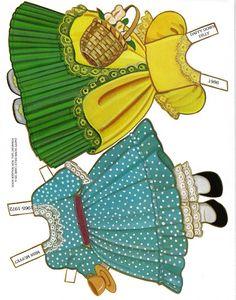 Paper Dolls~The Storyland Series – Bonnie Jones – Picasa Nettalbum