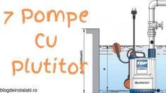 Ce este pompa cu plutitor submersibilă și ce model imi trebuie? Pompeii, Floor Plans, Blog, Blogging, Floor Plan Drawing