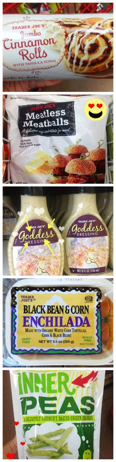 Unexpected vegan goodies at Trader Joe's!