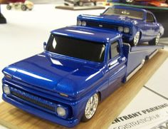 64 Chevy hauler with a 66 Chevelle Model Truck Kits, Model Kits, 66 Chevelle, Model Cars Building, Hobby Cars, Custom Hot Wheels, Cover Model, Vintage Models, Kit Cars