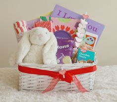 valentines day gift basket for children