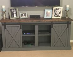 Farmhouse Tv Stand Design Ideas and Decor Awesome 20 Best Diy Entertainment Center Design Ideas for Living Room Home & Decor In 2019 center decor living room center ideas diy tv stands Pallet Entertainment Centers, Custom Entertainment Center, Entertainment Stand, Entertainment Center With Fireplace, Industrial Entertainment Center, Living Room With Tv, Small Living, Tv Stand Ideas For Living Room, Tv Stand Plans