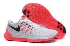 d629181036c9e Shop Hot Nike Roshe Run Shoes from nike top ten store with Fast Shipping And  Easy Returns Womens Nike Free 2014 White Grey Red Black Running Shoes Nike  Free ...