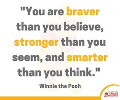 We LOVE WInnie the Pooh! #MotivationalMonday #CCRF