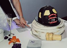 firefighter wedding | Firefighter Wedding - by specialdays @ CakesDecor.com - cake ...