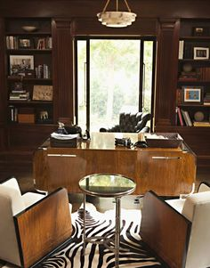 Classic style office design by Brooke Gardner