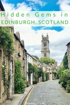 9 Lesser Known Hidden Gems in Edinburgh - Hidden Gems and Secret Spots in Edinburgh, Scotland. Top top off the beaten path places to go.