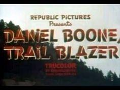 Daniel Boone Trailblazer 1956