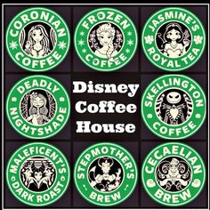 Disney Coffee House- I've been every single flavor = ● Walt Disney, Disney Pixar, Cute Disney, Disney Dream, Disney Girls, Disney And Dreamworks, Disney Magic, Poster Disney, Disney Starbucks