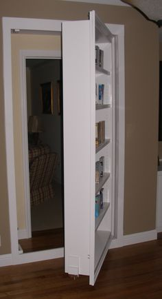 bookcase door hinge secret bookcase door pinterest. Black Bedroom Furniture Sets. Home Design Ideas