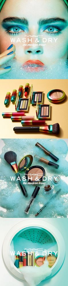 MAC Cosmetics Wash and Dry Collection for Summer 2015, release date April 30th
