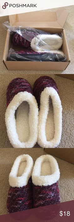 NWT women's slippers Brand new. No defects. Purchased for my grandma and they were too big for her, so selling for her. Very pretty and soft! Gorgeous colors. Size XL-tag says for women size 8-9 US. Make an offer! My grandma is an 8.5 US and they were just too big for her. ☹️ Shoes Slippers