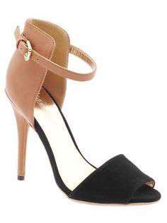 Gomax Calantha colorblock heels
