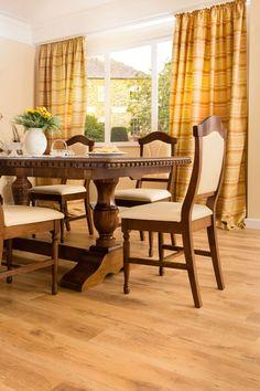 masa extensibila din lemn masiv - Mobilier Mobila Sufragerie clasica din lemn DOMINUS - Verona, Dining Chairs, Curtains, Furniture, Home Decor, Home, Blinds, Decoration Home, Room Decor