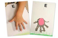 Preschool Corner: All About the Letter Ee | Homeschool Creations Blog
