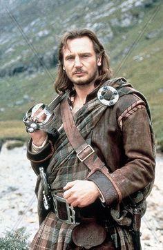 Liam Neeson as Rob Roy