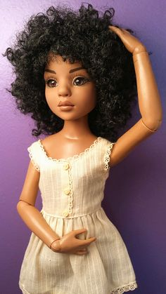 "fuckyeahdollsofcolor: "" All Natural Lizette (Spice) by WakeUpFrankie on Flickr. Tonner ""All Natural LIzette"" """