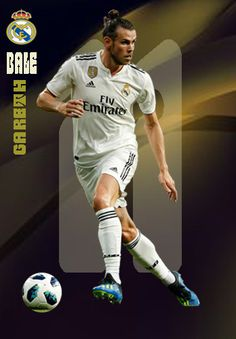 Gareth Bale of Real Madrid in Gareth Bale, Fotos Real Madrid, Lionel Messi Wallpapers, Equipe Real Madrid, Soccer Cards, Manchester United Football, Football Players, Fifa, The Unit