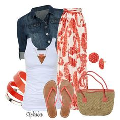 Summer Outfit,this would be cute for our trip to San Francisco