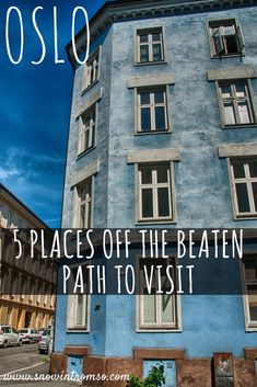 Oslo Off the Beaten Path - 5 Places to visit when you've already seen it all! Click through to read the list! Norway Places To Visit, Visit Norway, Cool Places To Visit, Places To Travel, Travel Stuff, Travel Advice, Travel Ideas, Travel Tips, Travel Destinations