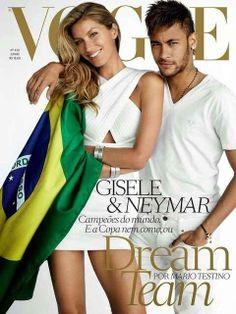 Vejam essa capa da Vogue. rogerio gualberto