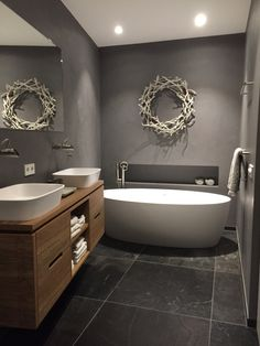 bathroom remodel tips is entirely important for your home. Whether you choose the bathroom remodel wainscotting or wayfair bathroom, you will create the best rebath bathroom remodeling for your own life. Bathroom Toilets, Bathroom Renos, Grey Bathrooms, Bathroom Cleaning, Beautiful Bathrooms, Bathroom Renovations, Bathroom Interior, Modern Bathroom, Bad Inspiration
