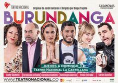 Burundanga en el Teatro Nacional La Castellana Carolina Ramirez, Camelo, Movie Posters, Movies, Truths, Amor, Theater, Funny, Films