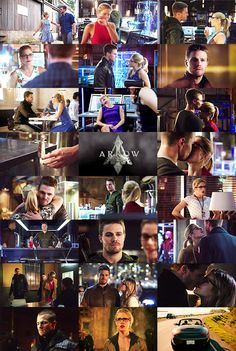 fe-li-ci-ty:  One Cap Per Episode: Oliver x Felicity Edition Season 3 [Season 1] [Season 2]