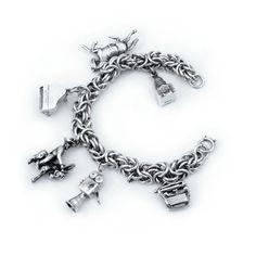 dc2f72ddc45f7 54 Best Charm Bracelets Vintage and Antique images in 2019 ...