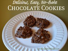 Used to make these all the time with mom when I was younger~Come Together Kids: … Used to make these all the time with mom when I was younger~Come Together Kids: No-Bake Chocolate Cookies - Earn College Scholarships Chocolate No Bake Cookies, Chocolate Recipes, Just Desserts, Delicious Desserts, Yummy Food, Tasty, Cookie Recipes, Dessert Recipes, Yummy Recipes