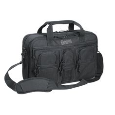 $71.95 Voodoo Tactical   Pro-Ops Briefcase 20-0099 www.justcoolgear.com/product_info.php/Pro-Ops-Briefcase/Just-Cool-Gear/products_id/561?osCsid=gri5uiup9v0c8e9s9r86mee372    Tactical travel at its best! Take your handgun with extra mags, laptop, electronics and all your tactical gear wherever you go.