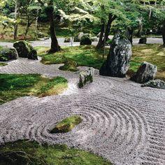 木陰に涼しい風が抜けて縁側がとても気持ちよかった。京都の青蓮院が好きなんだけどそこによく似ていた